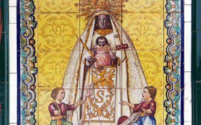 La Virgen de la Merced de Jerez de la Frontera. Un recorrido por los azulejos devocionales de la campiña.