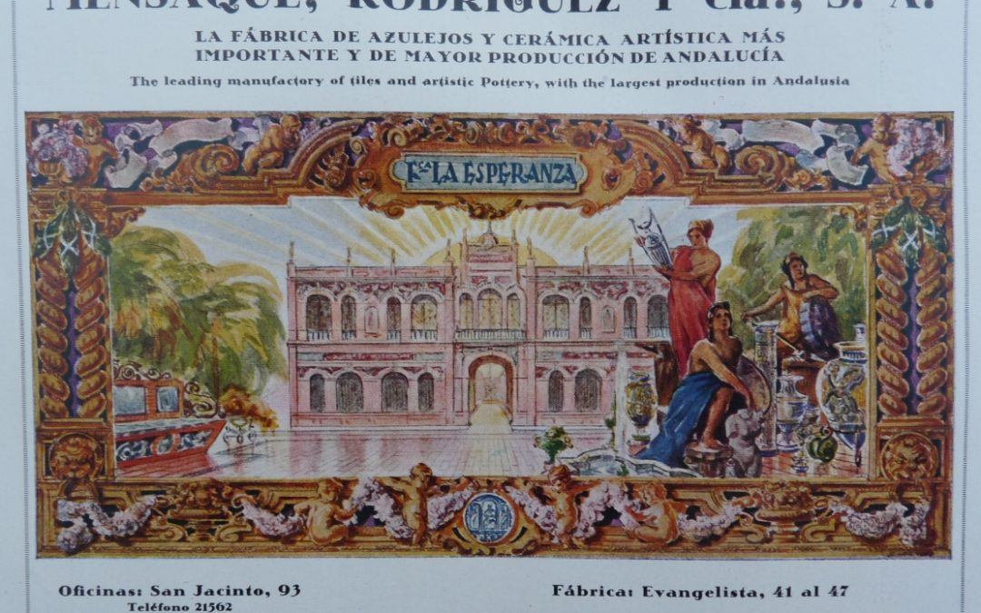 Crónica. Conferencia. La publicidad en las fábricas de cerámica del siglo XX
