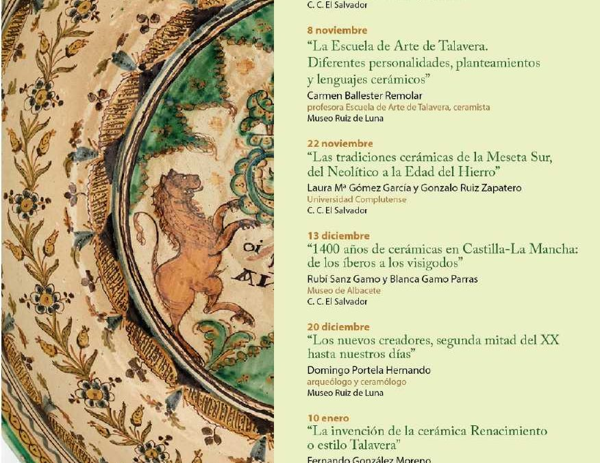 Ciclo de conferencias en el Museo de Cerámica de Talavera