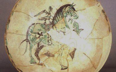 Pieza del mes. Octubre 2018. El ataifor del caballo del Museo Arqueológico de Granada. Pilar Lafuente Ibáñez.
