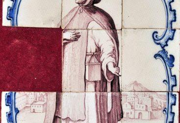 Pieza del mes. Diciembre 2013. Monje Jerónimo del conjunto de la capilla del Sagrario de la Iglesia de San Juan de Dios de Cádiz. Alfredo García Portillo.