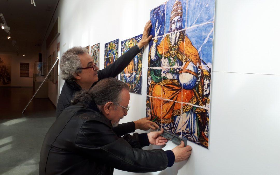"""Preparativos de la exposición """"Niculoso Pisano me fecit"""""""