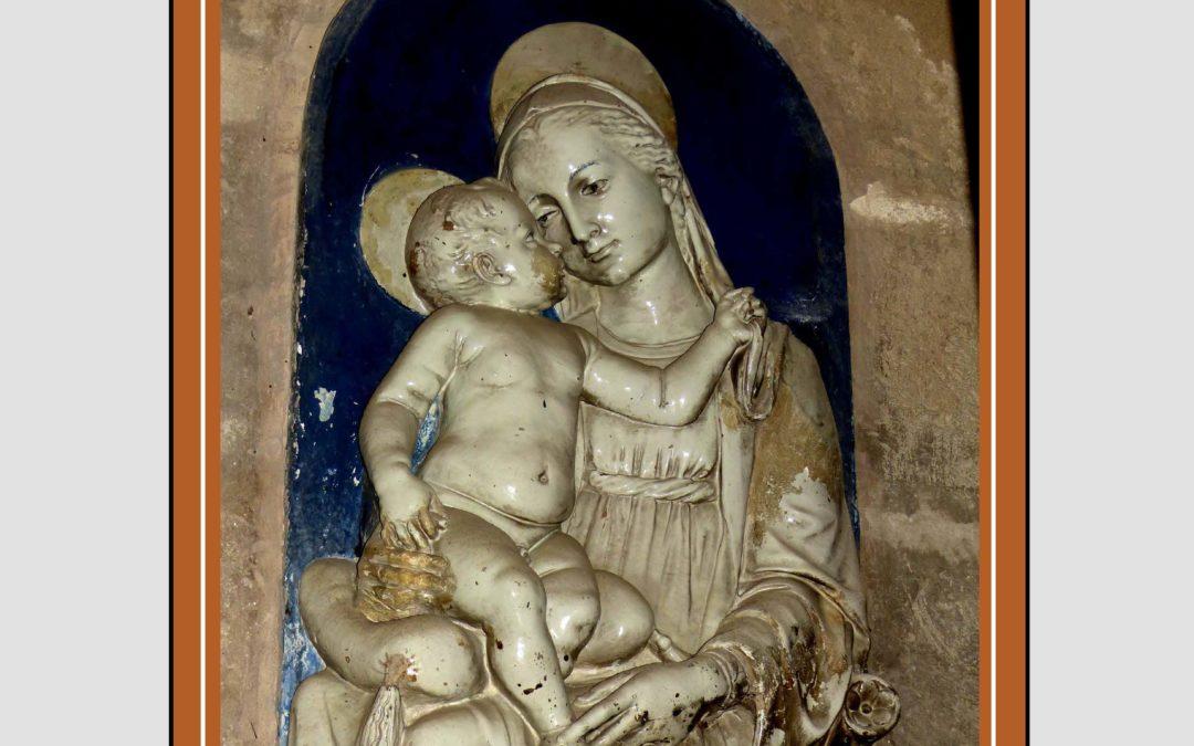 Pieza del mes. Noviembre 2018. La Virgen del Cojín de la Catedral de Sevilla. Francisco José Vallecillo Martínez.