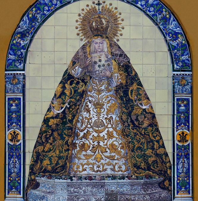 Pieza del mes. Junio 2014. El retablo de la Virgen de la Esperanza en el Arco de la Macarena. Martín Carlos Palomo García.