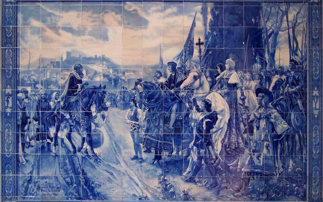 Pieza del mes. Enero 2019. Escena de la Rendición de Granada de Manuel Rodríguez Pérez de Tudela. Alvaro Sáenz Rodríguez.
