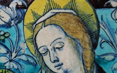 Pieza del mes. Enero 2015. Virgen con el Niño de Niculoso Fracinsco Pisano. Museo de Bellas Artes de Sevilla. Jesús Marín García.