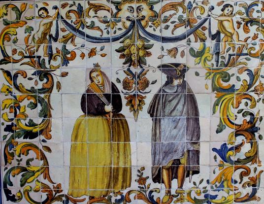 Pieza del mes. Septiembre 2016. Zócalo y fuente del patio del Palacio del Obispo de Málaga. José Manuel Leiva Pérez.