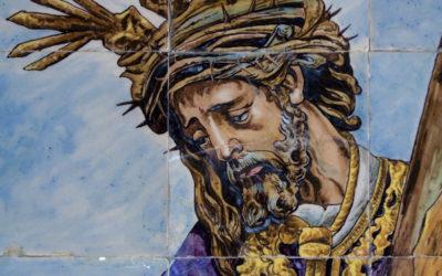 Pieza del mes. Diciembre 2014. El retablo del Gran Poder en el Centro Cerámica Triana. Martín Carlos Palomo García.