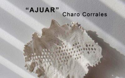 """""""Ajuar"""" exposición de Charo Corrales en el Centro Cerámica Triana."""