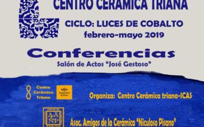 """Nuevo ciclo de conferencias con el sugestivo nombre de """"Luces de Cobalto»"""