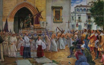Artículo. Una pintura costumbrista como fuente iconográfica de un retablo cerámico.