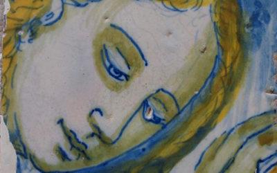 Hallados ocultos en la ermita de Piedraescrita 680 azulejos