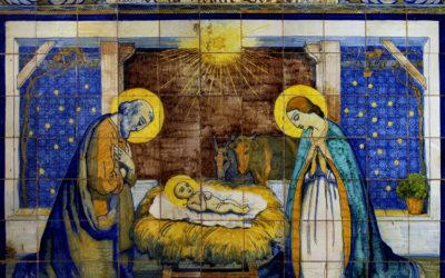 Pieza del mes. Diciembre 2016. El nacimiento de Gustavo Bacarisas del zócalo de la Capilla de los Luises de Sevilla. Manuel Pablo Rodríguez Rodríguez.