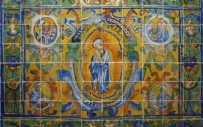 Restauración del frontal de altar de Cuatrovitas.