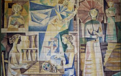 Pieza del mes. Mayo 2018. Los paneles cerámicos del edificio de Plaza de Cuba, 5 de Sevilla. José Ramón Morilla Aceijas
