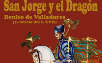 Pieza del mes. Marzo 2018. San Jorge y el dragón de Benito de Valladares en el Cortijo el Aljarabejo. Manuel Pablo Rodríguez Rodríguez.