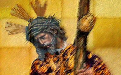 Pieza del mes. Abril 2019. El retablo cerámico de Jesús del Gran Poder en la Iglesia de San Lorenzo. Francisco José Vallecillo Martínez.