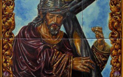 Sevilla. Nuevo retablo cerámico del Señor de la Salud en la calle Cano y Cueto