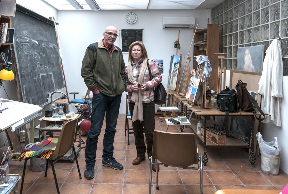 Antonio García Cerro. Pintor ceramista. Talavera de la Reina 1954.