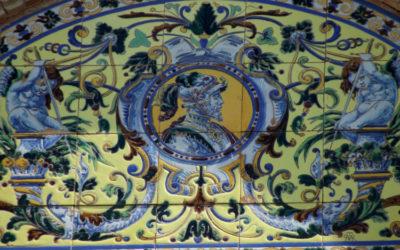 ¿Dónde están los azulejos de Pérez de Tudela?