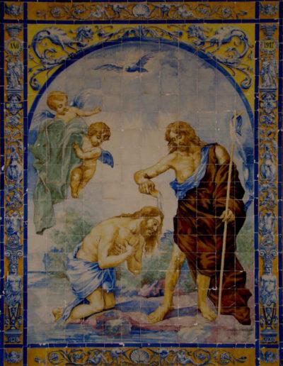 Bautismo de Cristo. Villanueva del Río y Minas.