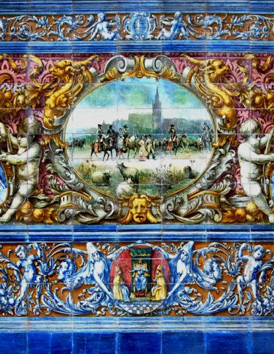 Panel Plaza de España. Sevilla (4)