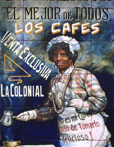 Panel publicitario. Sevilla.