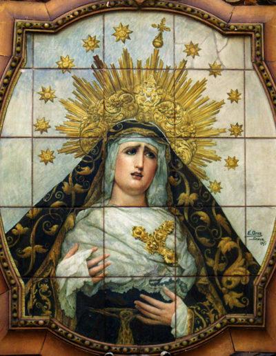 Soledad de San Lorenzo. Sevilla (detalle)