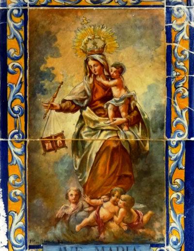 Virgen del Carmen. Málaga.