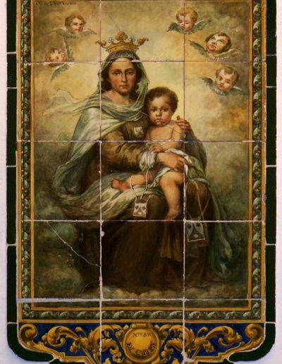 Virgen del Carmen. Sevilla.