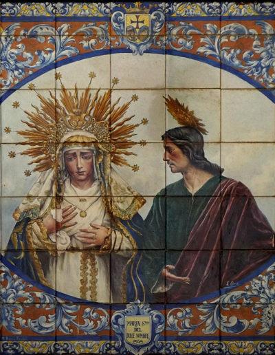Virgen del Dulce Nombre. Sevilla.