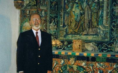 Fallece el ceramófilo y coleccionista Vicente Carranza Escudero.