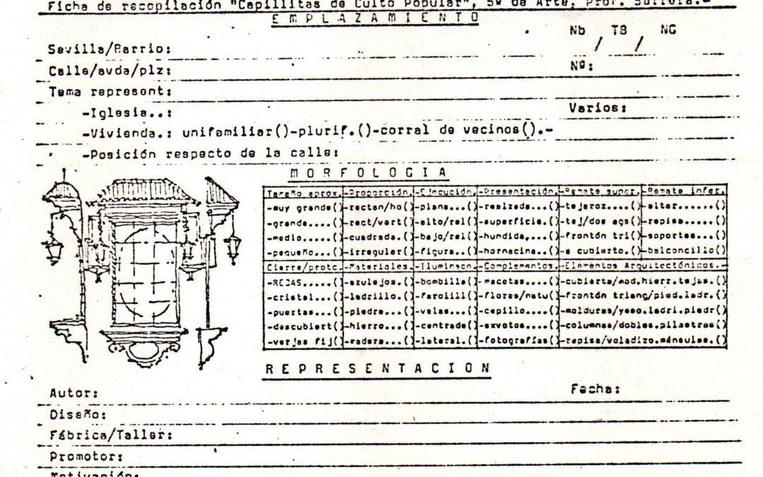 El profesor Serrera Contreras, un precursor del estudio de los retablos cerámicos