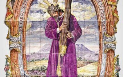 Se inaugura en Morón de la Frontera un retablo cerámico monumental de Ntro. Padre Jesús Nazareno de la Fuensanta.
