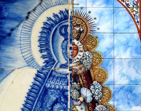 Artículo. Evolución de la iconografía de la Virgen del Rocío a través de sus retablos cerámicos. Manuel Pablo Rodríguez Rodríguez.