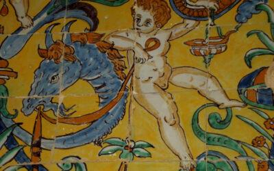 Vídeo. Azulejos de la Iglesia de Santiago de Carmona.