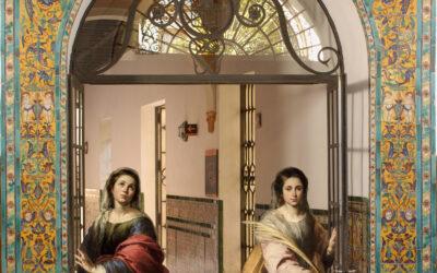 Santas Justa y Rufina, alfareras de Triana. En el día de su festividad.