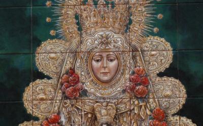 Inaugurado un nuevo retablo cerámico en Mairena del Aljarafe