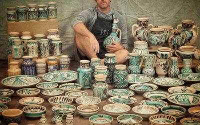 La cerámica de Sediles que encandila a Netflix