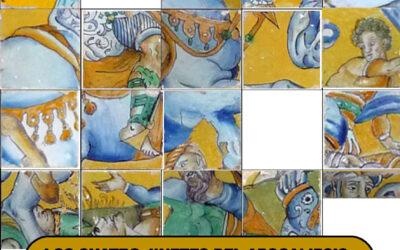 Pieza del mes. Noviembre 2020. Los cuatro jinetes del Apocalipsis de Cristóbal de Augusta. Convento de Madre de Dios. Sevilla. Alfonso Pleguezuelo Hernández y Jesús Marín García.
