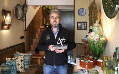 El alfarero ubetense Melchor Tito recibió su Premio a la Artesanía de Andalucía