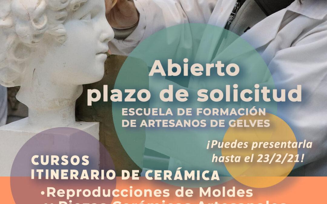 Escuela de Formación de Artesanos de Gelves. Itinerario formativo de cerámica.
