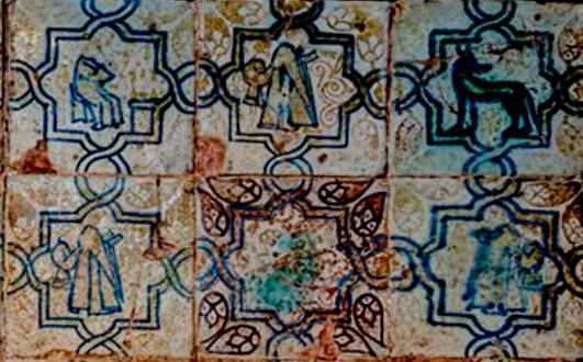 Pieza del mes. Mayo 2021. De Granada a Córdoba. Los azulejos nazaríes de la Capilla de San Bartolomé. Pilar Lafuente Ibáñez.