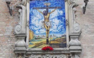 La Hermandad de los Estudiantes de Sevilla restaurará el retablo del Cristo de la Buena Muerte de la Anunciación.