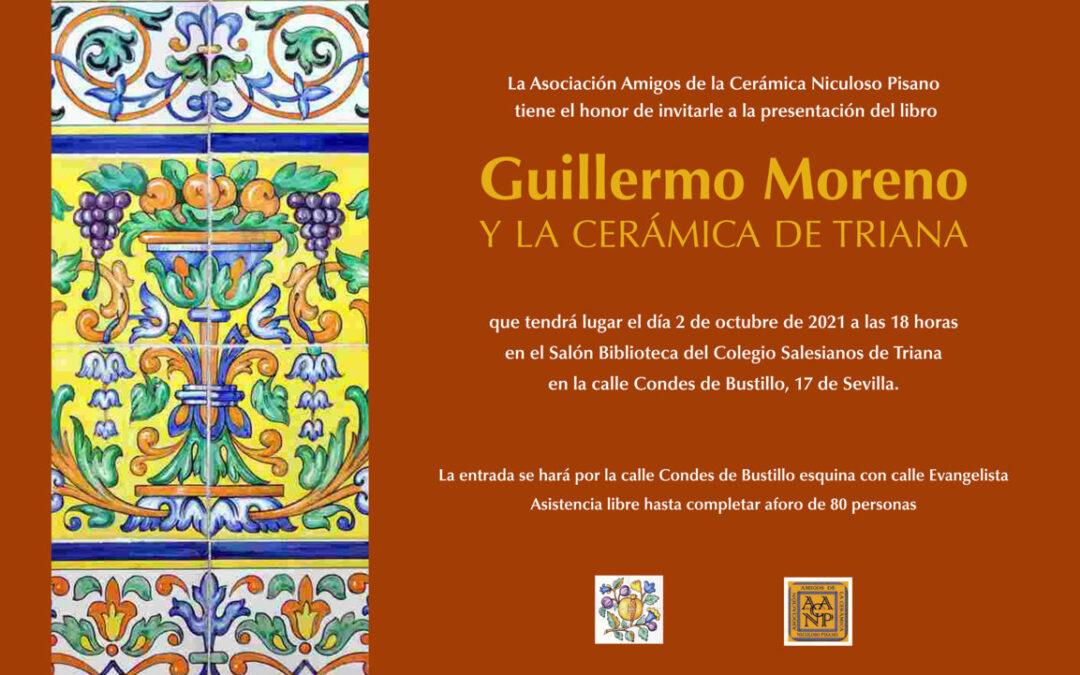 Un libro sobre el ceramista Guillermo Moreno